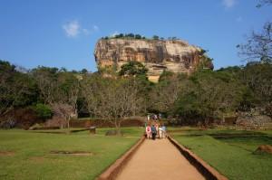 Rocher aux lions - Sigiriya