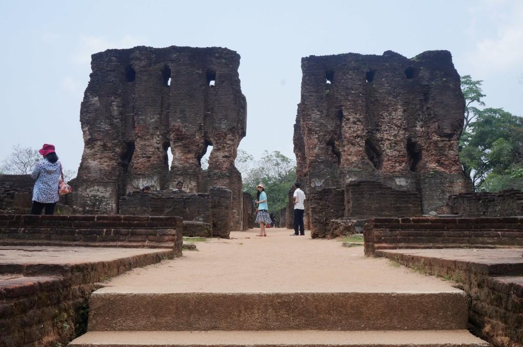 Les ruines de Polonnaruwa, Sri Lanka