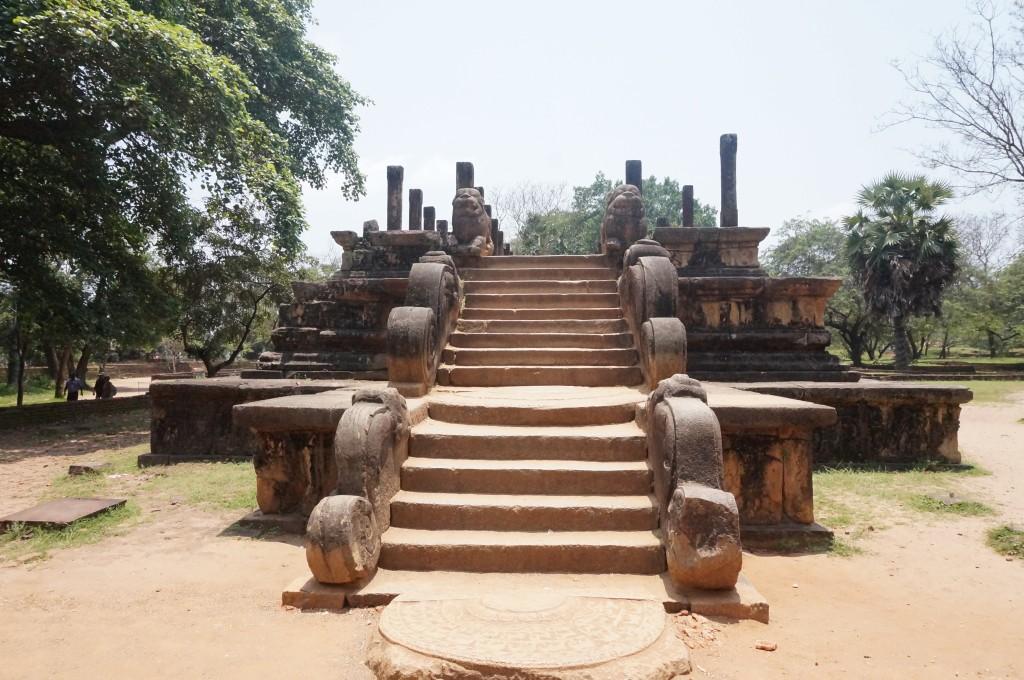la salle du conseil de parakrama bahu