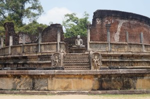 vatadage ruines de polonnaruwa sri lanka