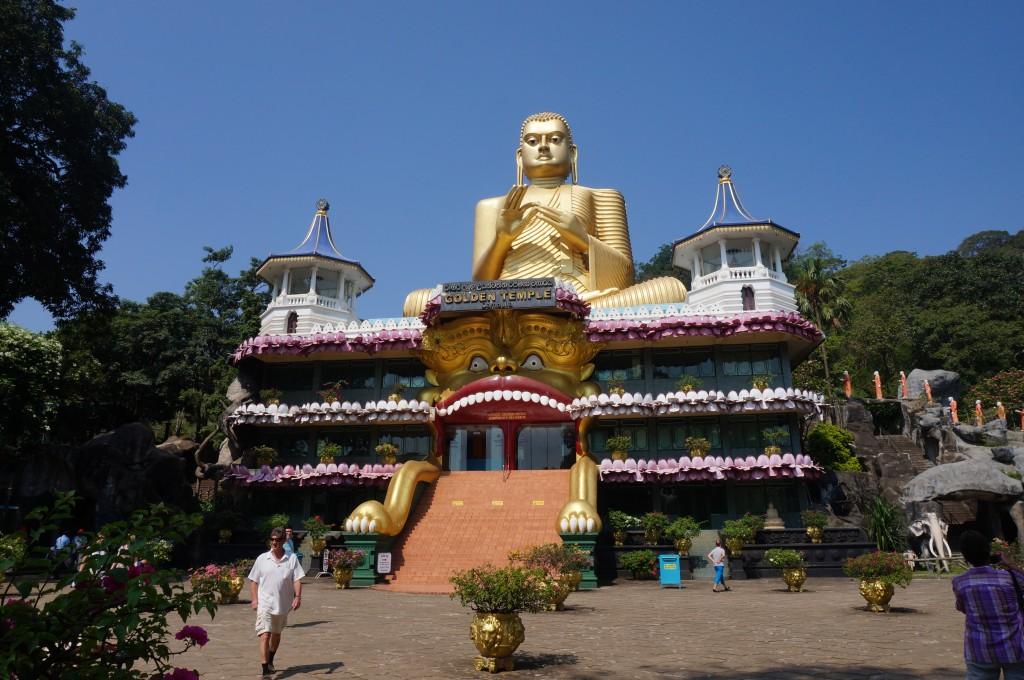dambulla bouddha gean