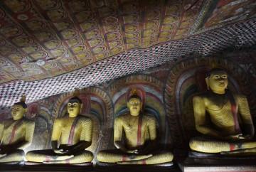 Les grottes de dambulla sri lanka