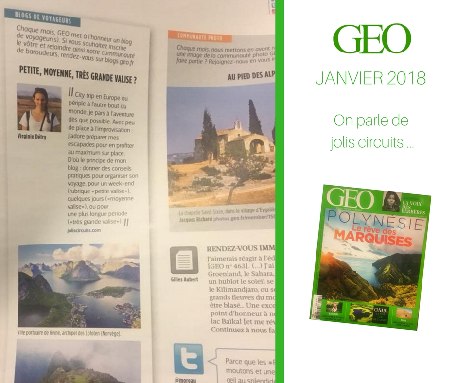 geo magazine jolis circuits