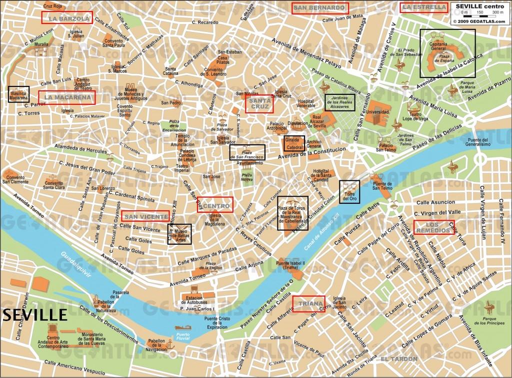 Carte seville