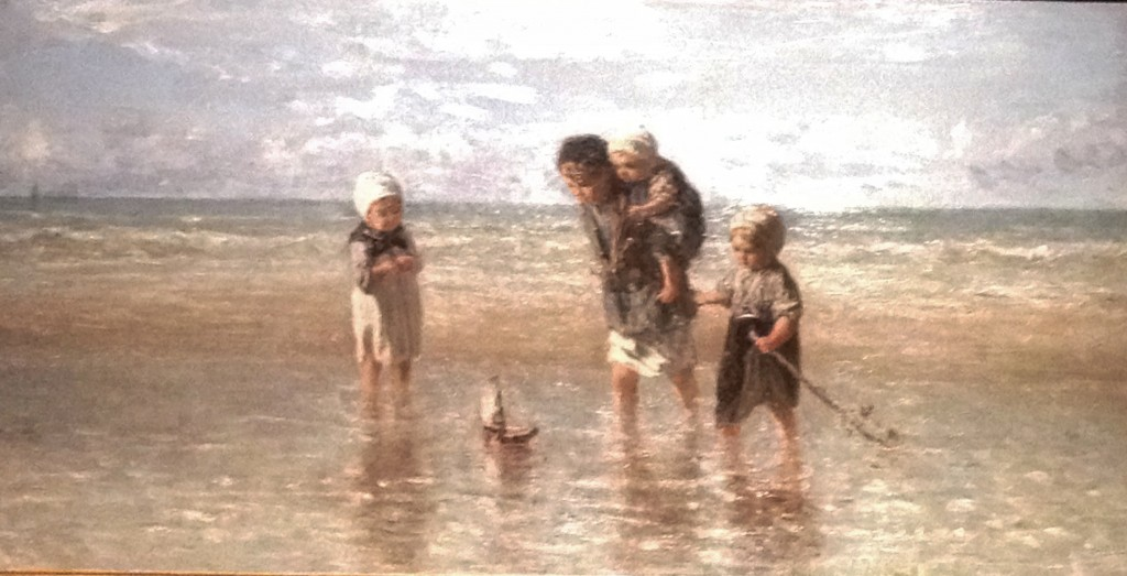 Children of the Sea, Jozef Israëls, 1872