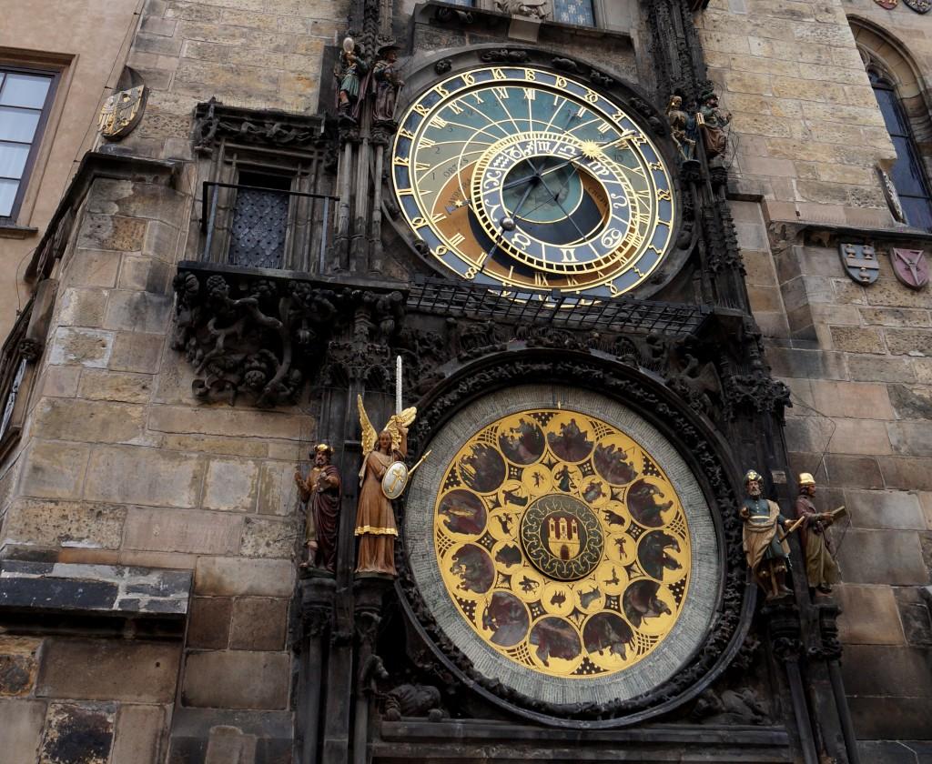 Prague vieille ville horloge