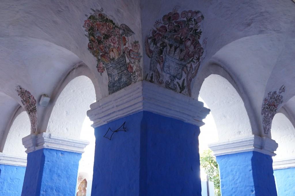 Cloître des Orangers - monastère d'Aréquipa