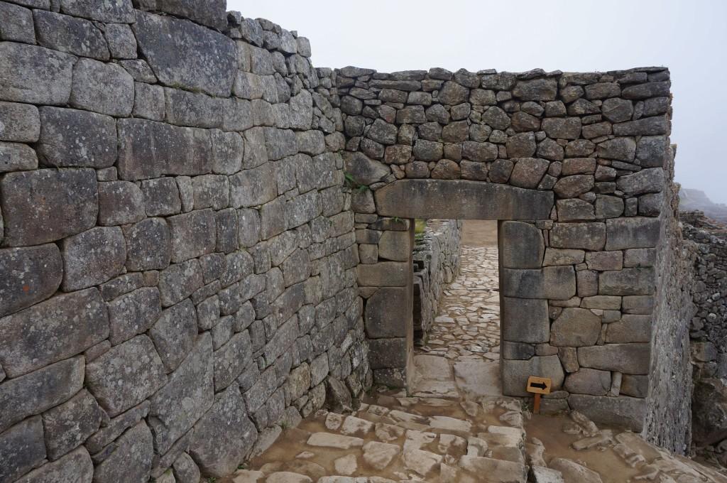 machu picchu Porte principale