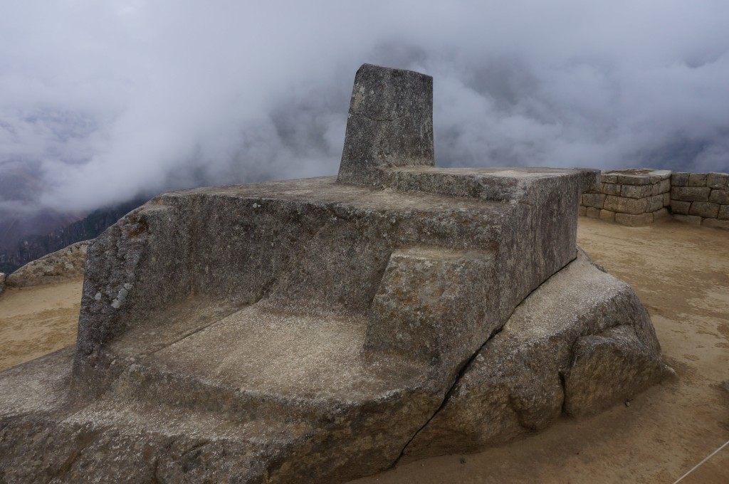 Machu Picchu - intiwatana