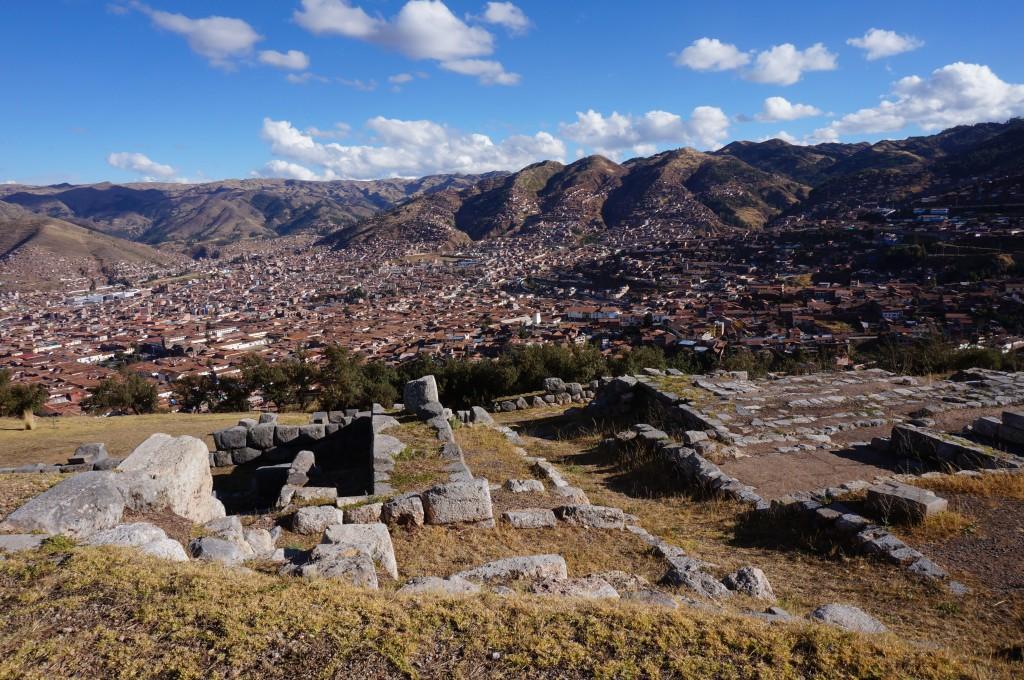 Sacsayhuaman - vue sur Cuzco
