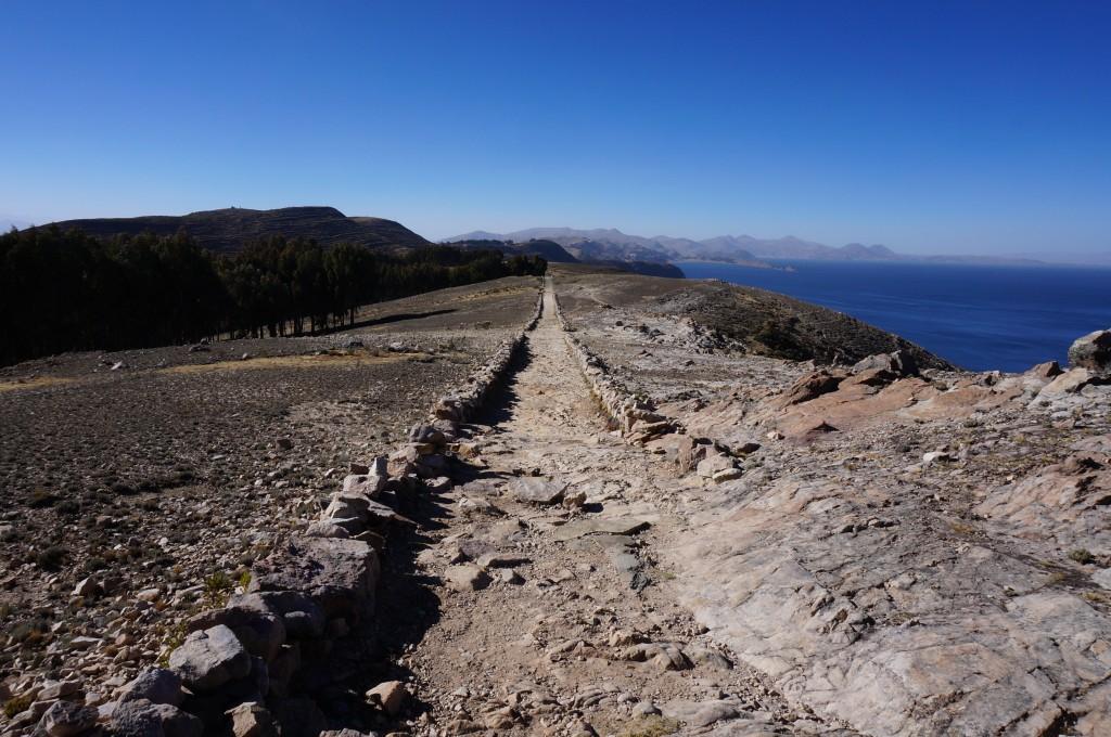 Isla del sol - sentier des crêtes
