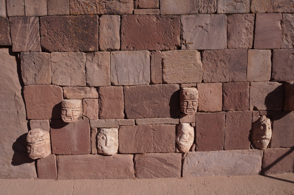 Tiwanaku - Temple semi-souterrain