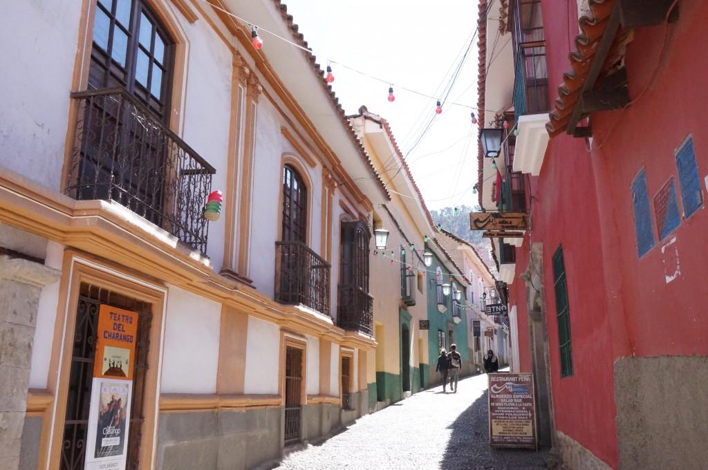 La Paz - vieux quartier colonial