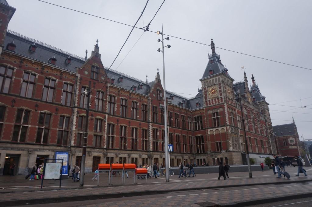 Gare centrale Amsterdam