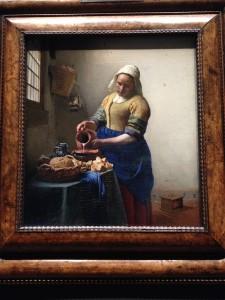 Tableau la laitière Jan Vermeer