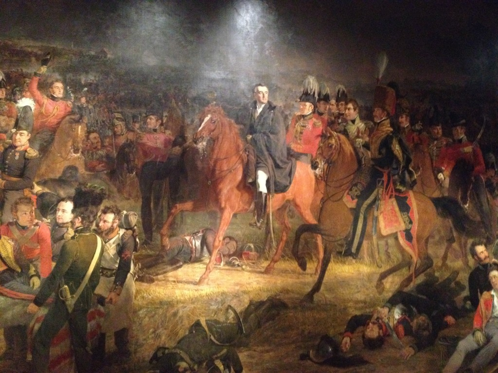 La Bataille de Waterloo, Pieneman (1824)