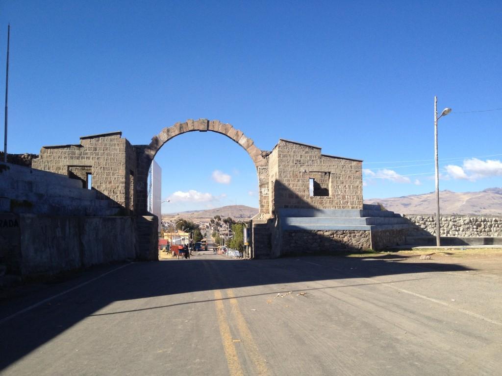 Frontière Pérou Bolivie
