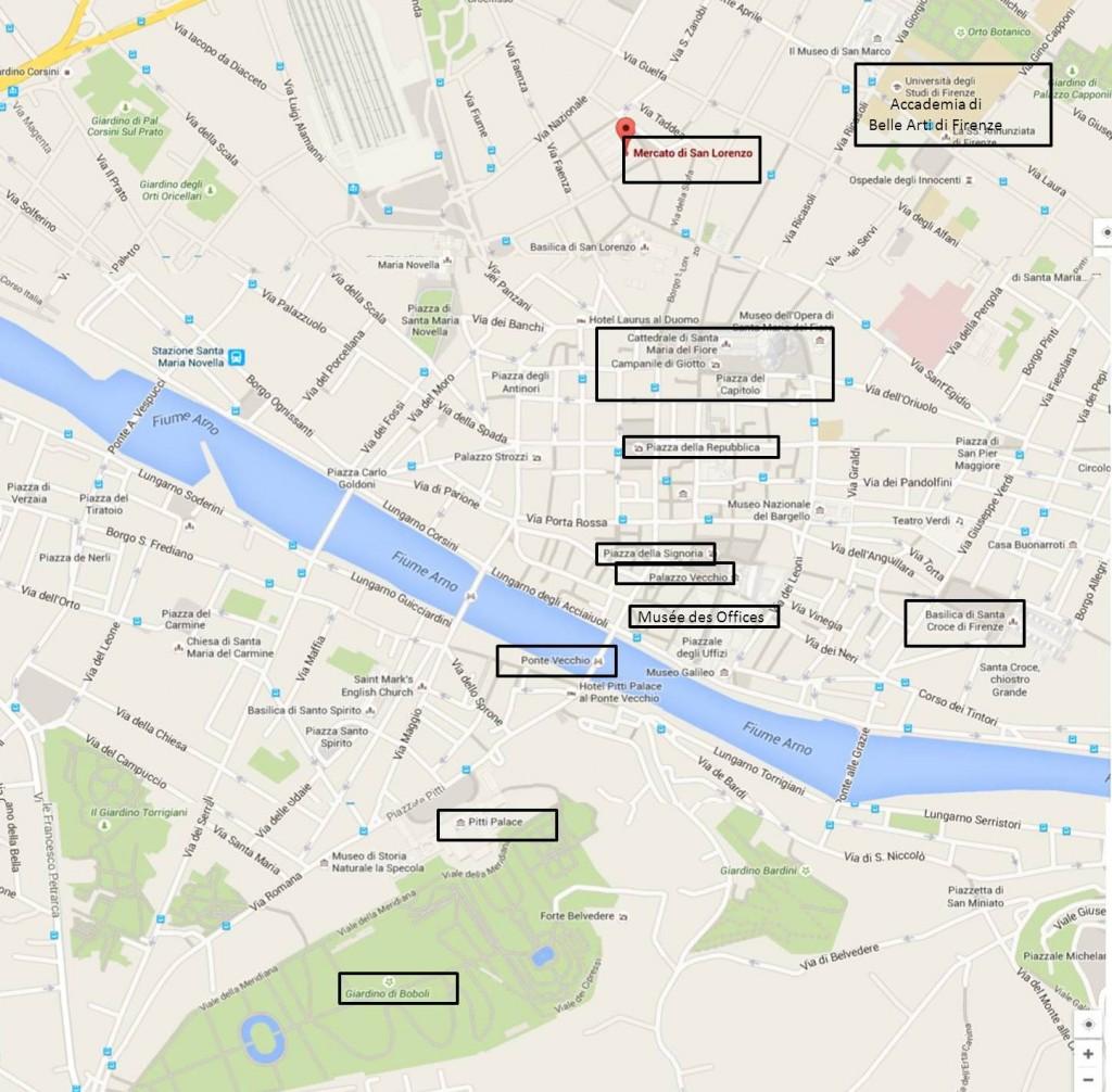 plan de Florence