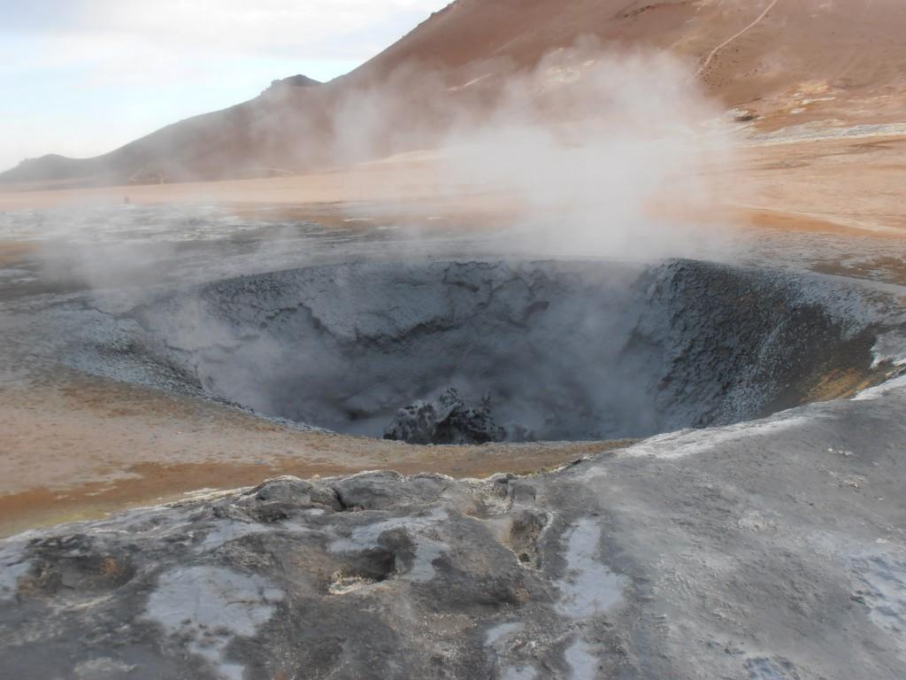 Islande Hverir cercle d'or