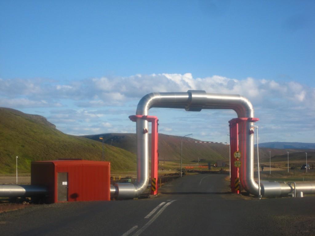 Krafla Landsvirkjun centrale géothermique