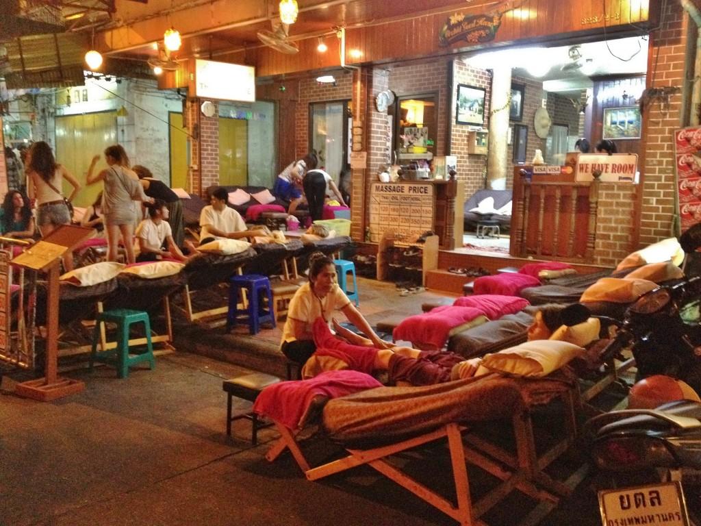 massage de rue bangkok