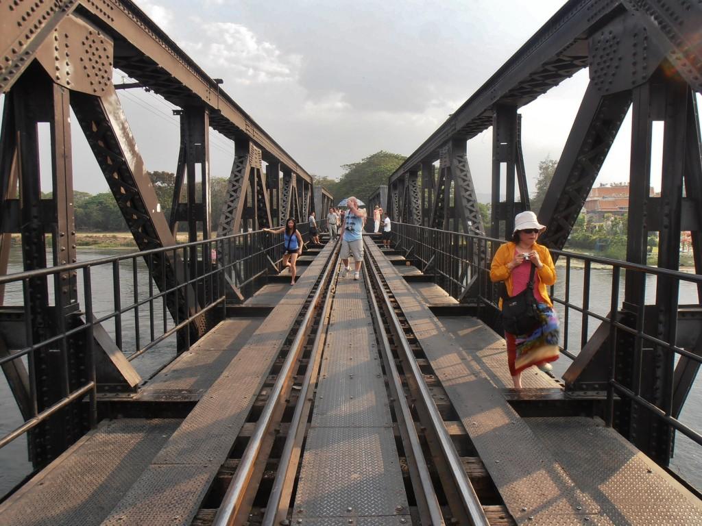 Pont de la rivière Kwaï bangkok