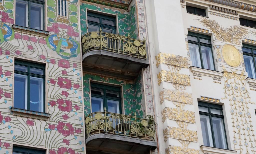 Maison aux Majoliques Vienne Secession