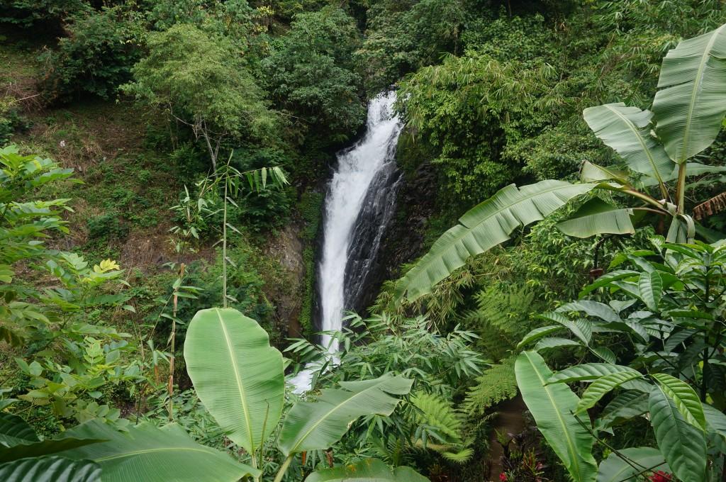 cascades GitGit Bali