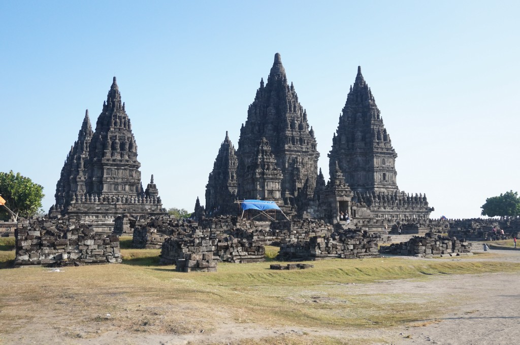 temple de Prambanan Java