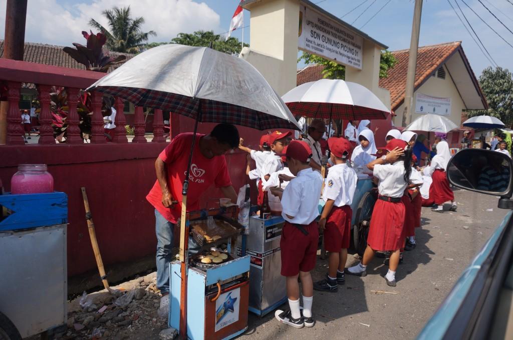 Java sortie d'école Indonésie