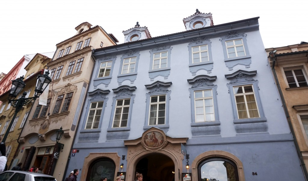 quartier de Hradčany Prague