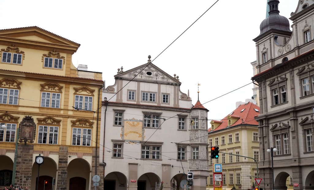 place de Malá Strana Prague