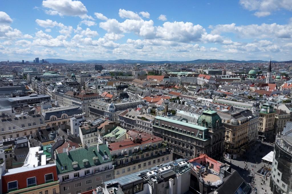 Vue aérienne Vienne