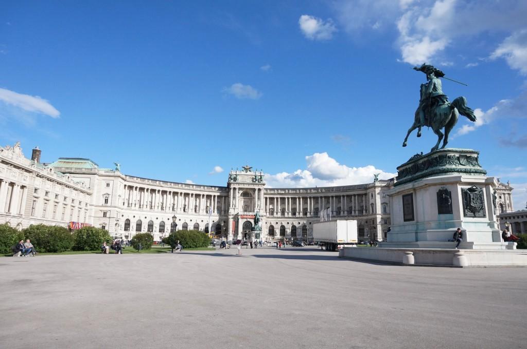 Vienne Hofburg Palais Imperial