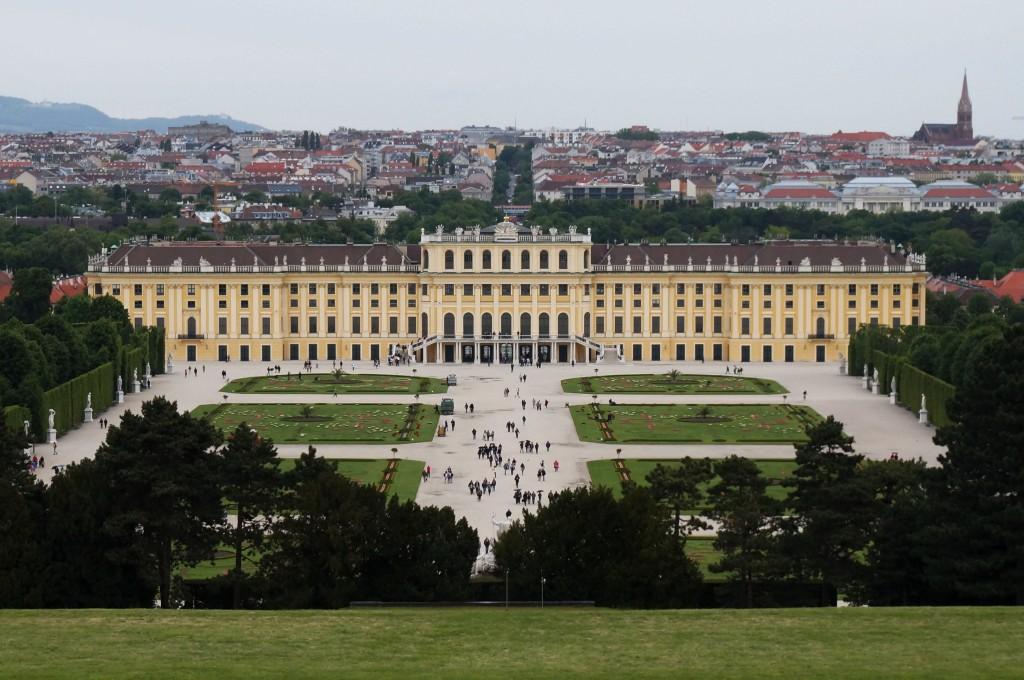 Vienne chateau de Schönbrunn