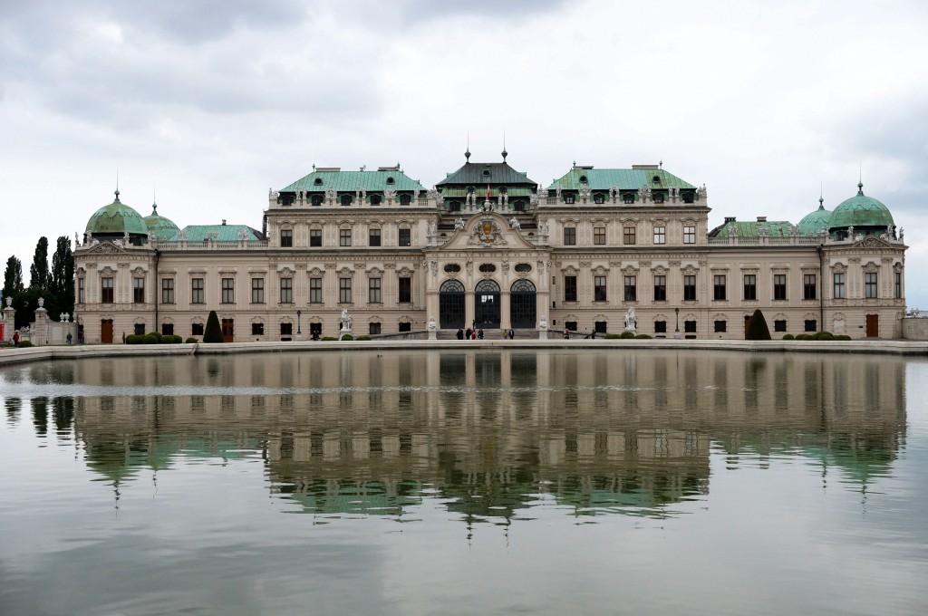 Vienne le Belvédère