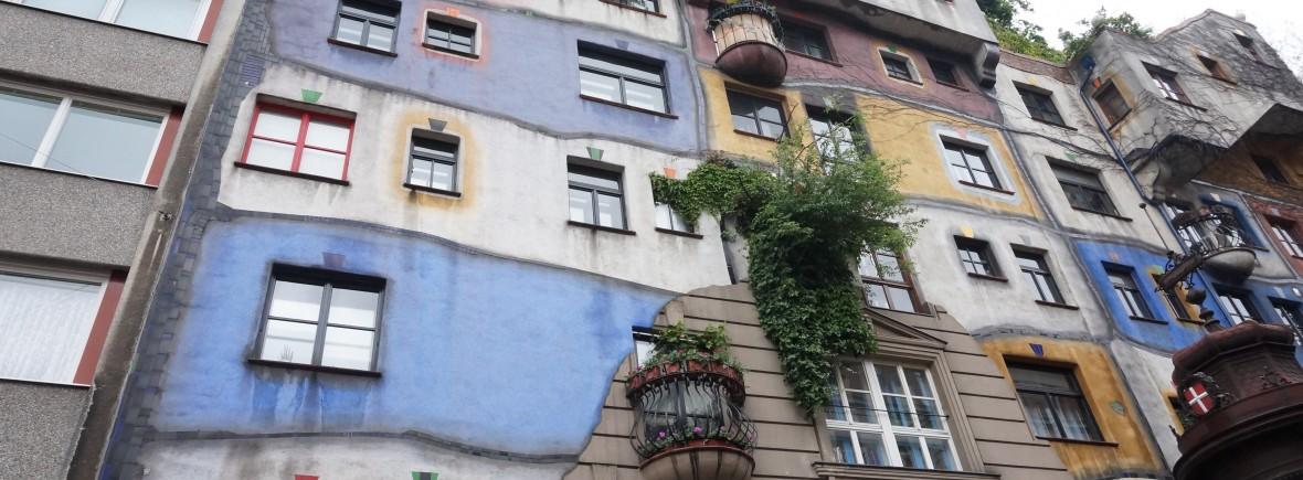 Vienne Hundertwasserhaus