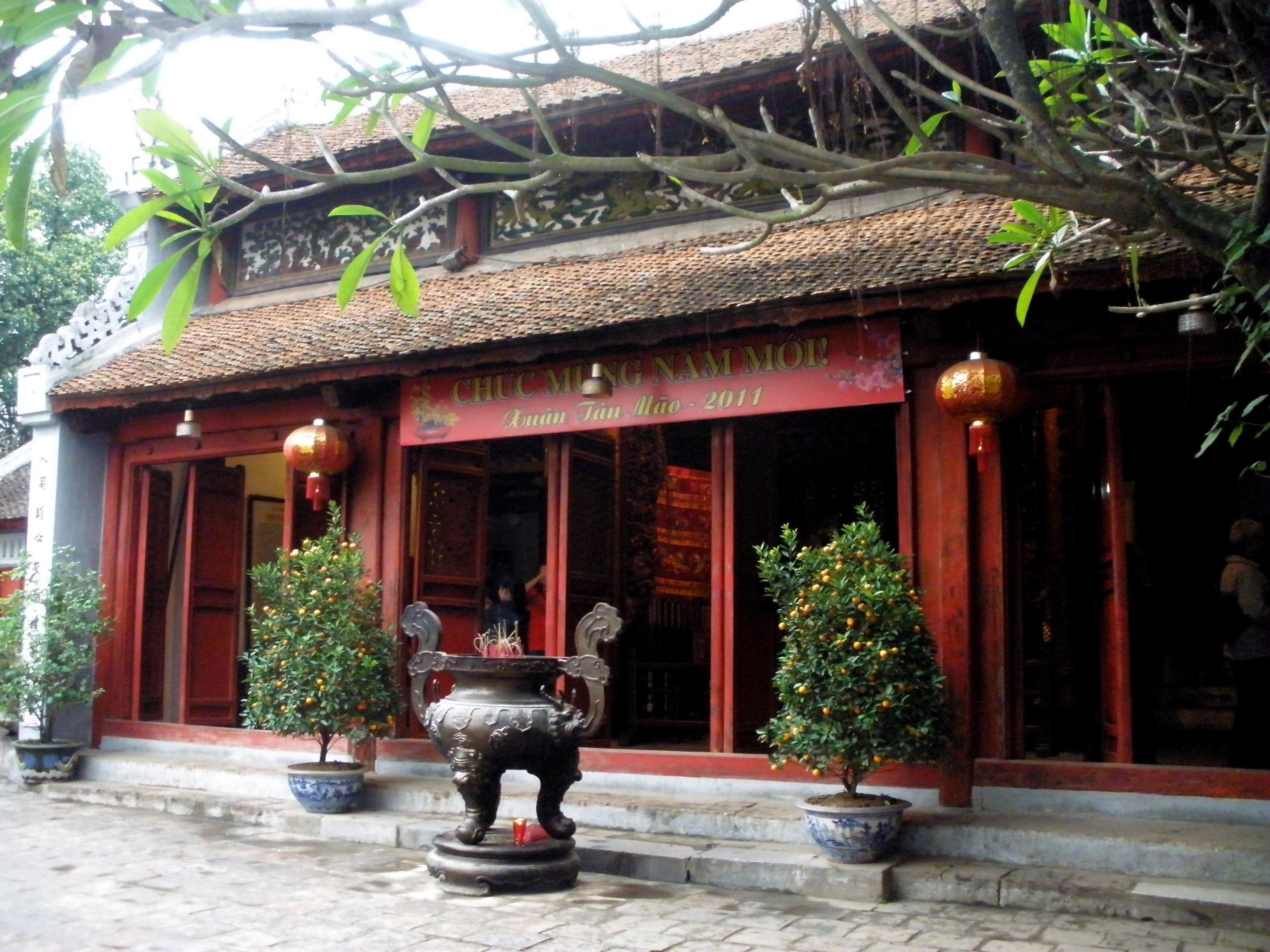 Temple Ngoc Son - Hanoi
