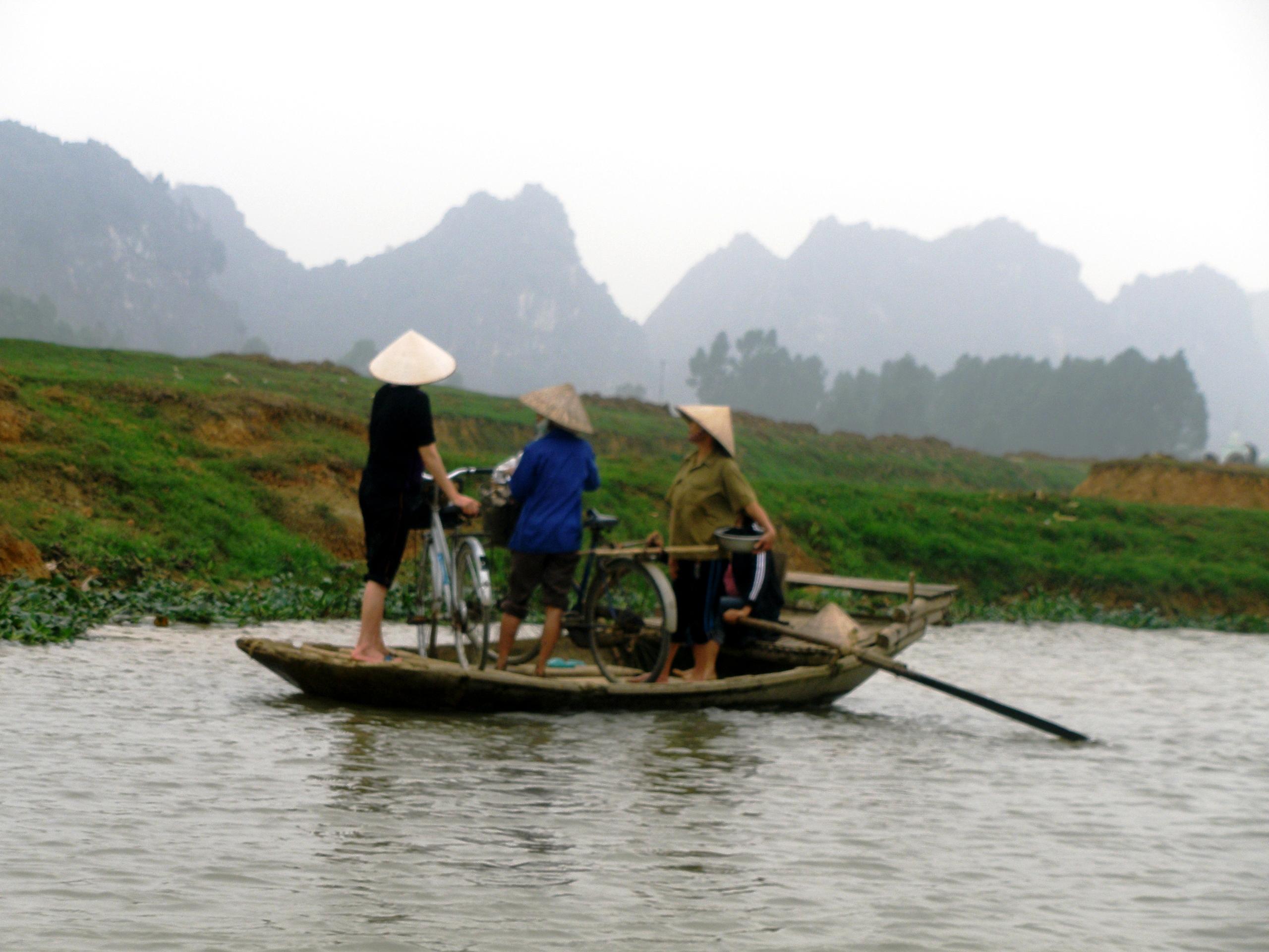 Kenh Ga, village flottant