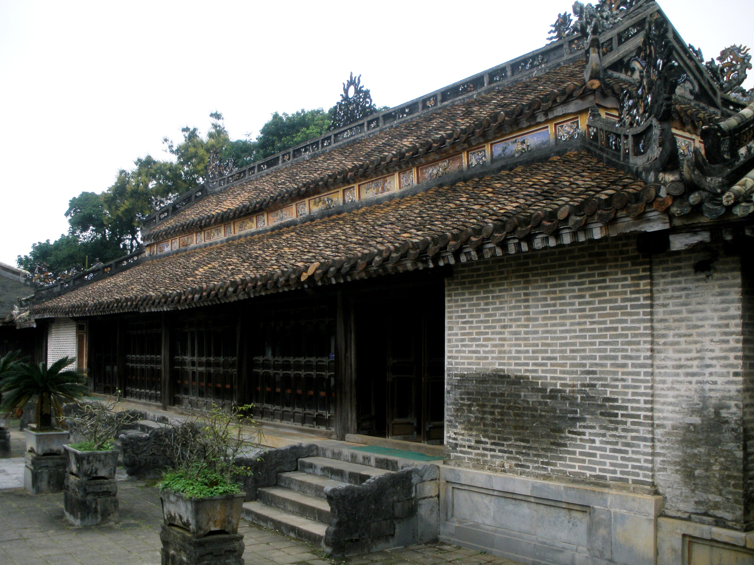 temple luong khiem Hué