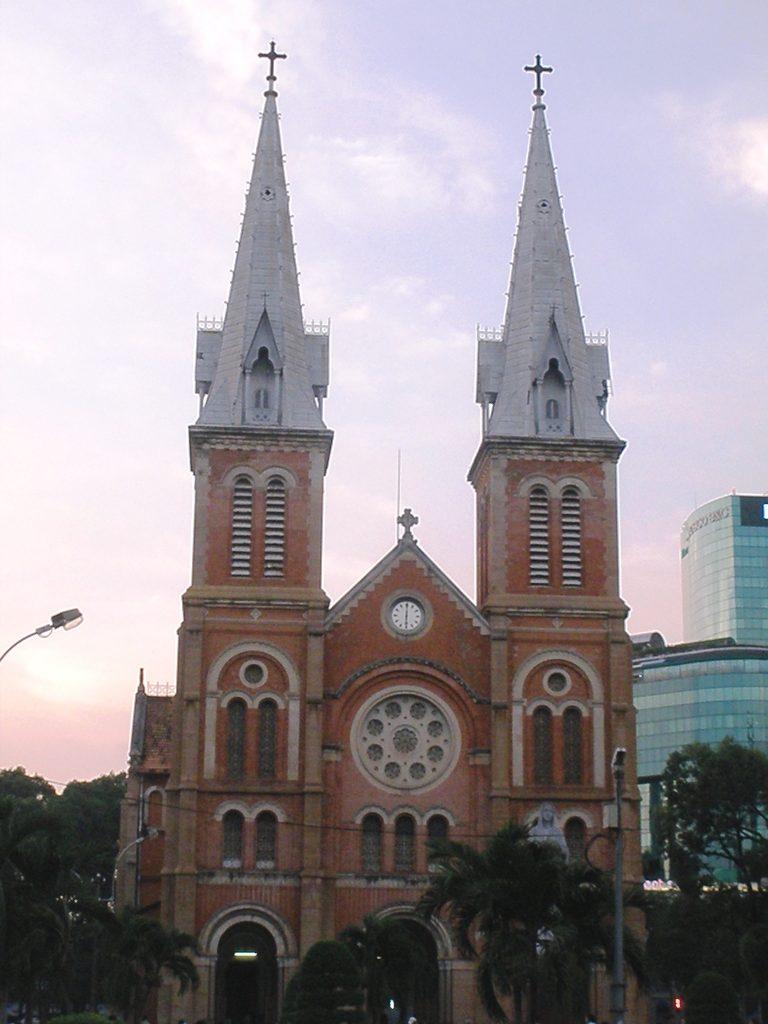 cathédrale notre dame vietnam