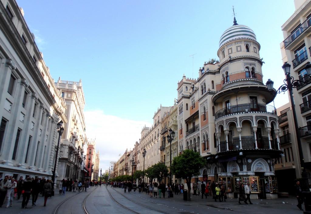 Avenue de la constitution Seville