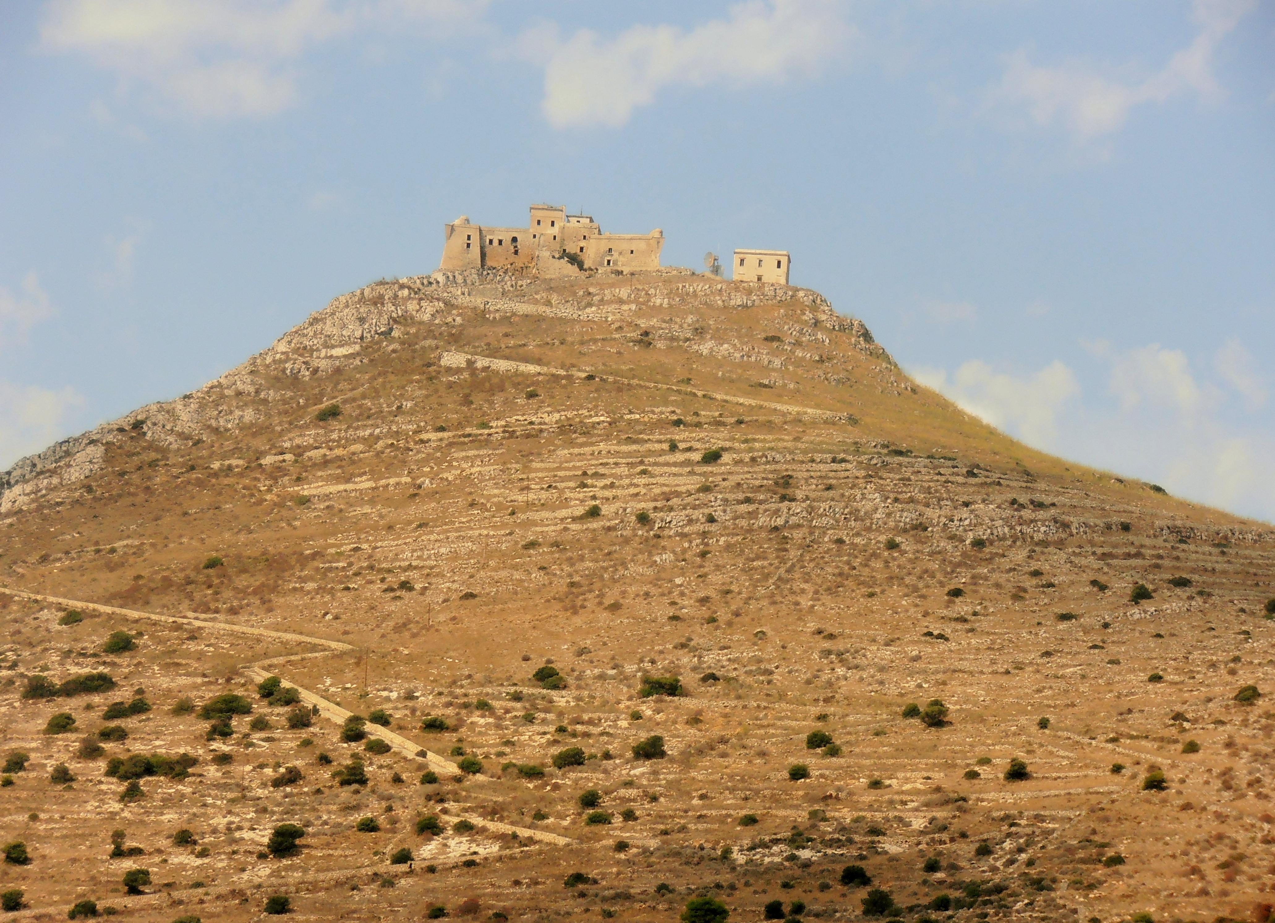 Castello di Santa Caterina ile de favignana