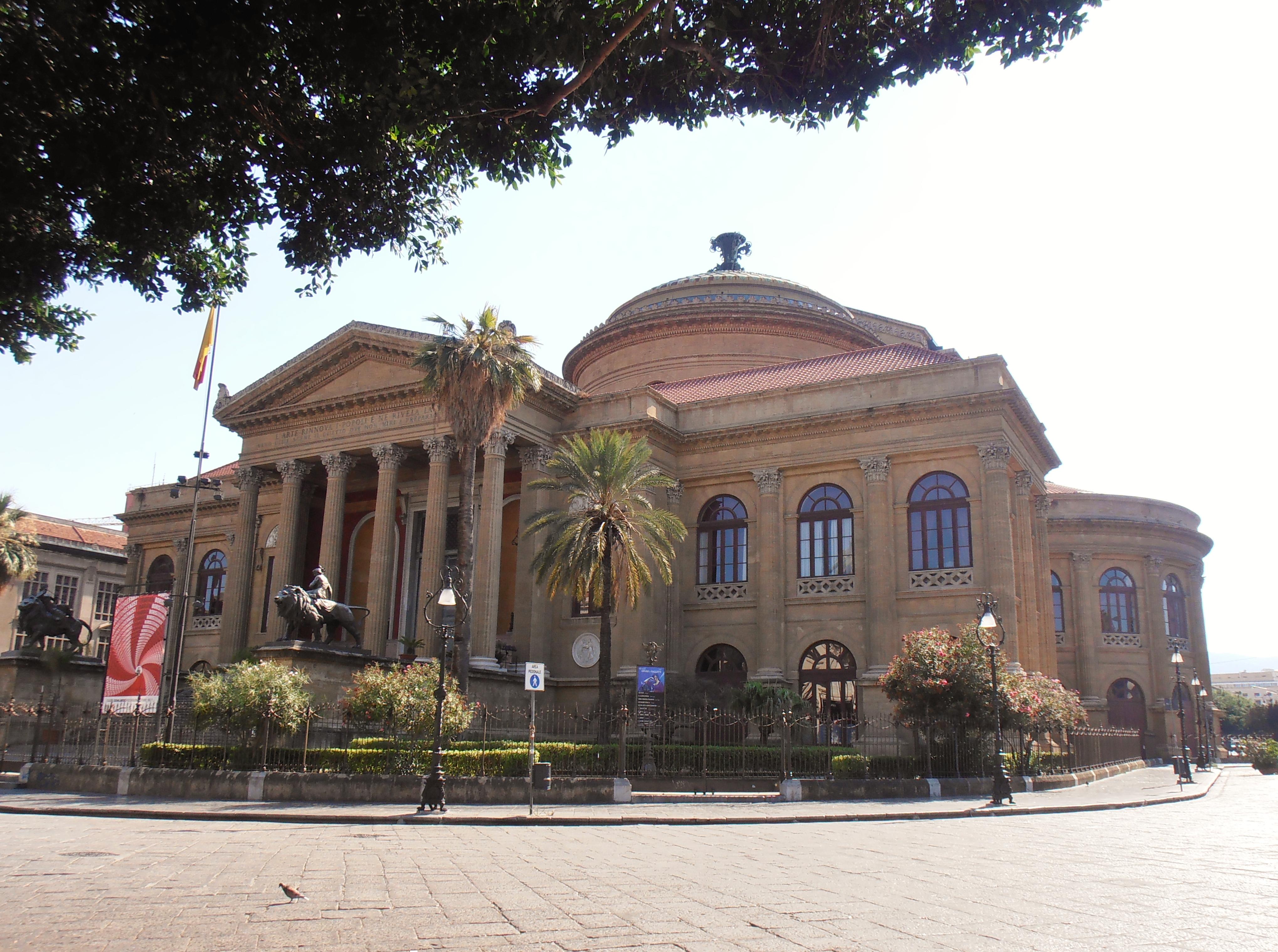 Palerme teatro massimo Sicile