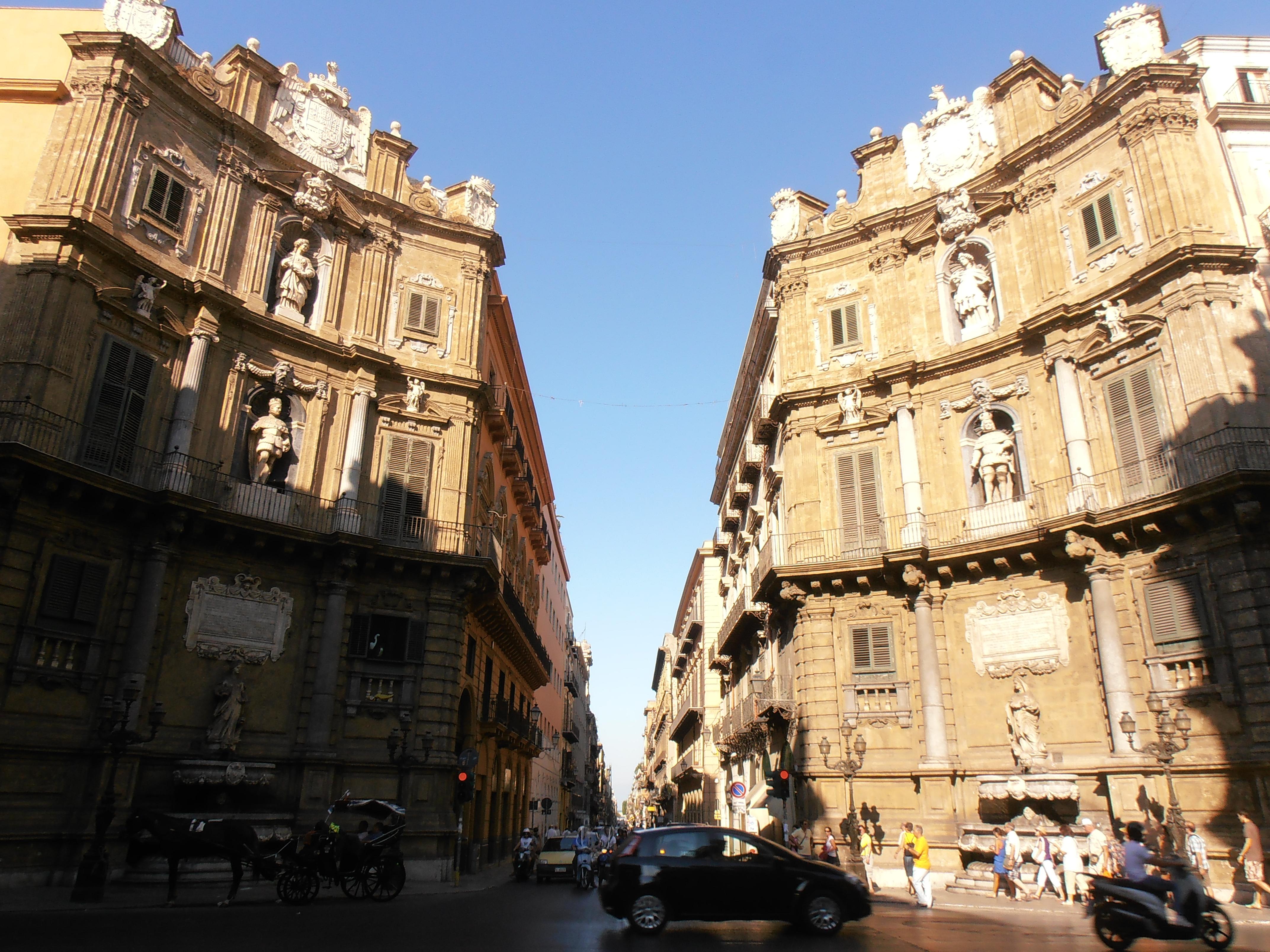 Quattro Canti Palerme Sicile