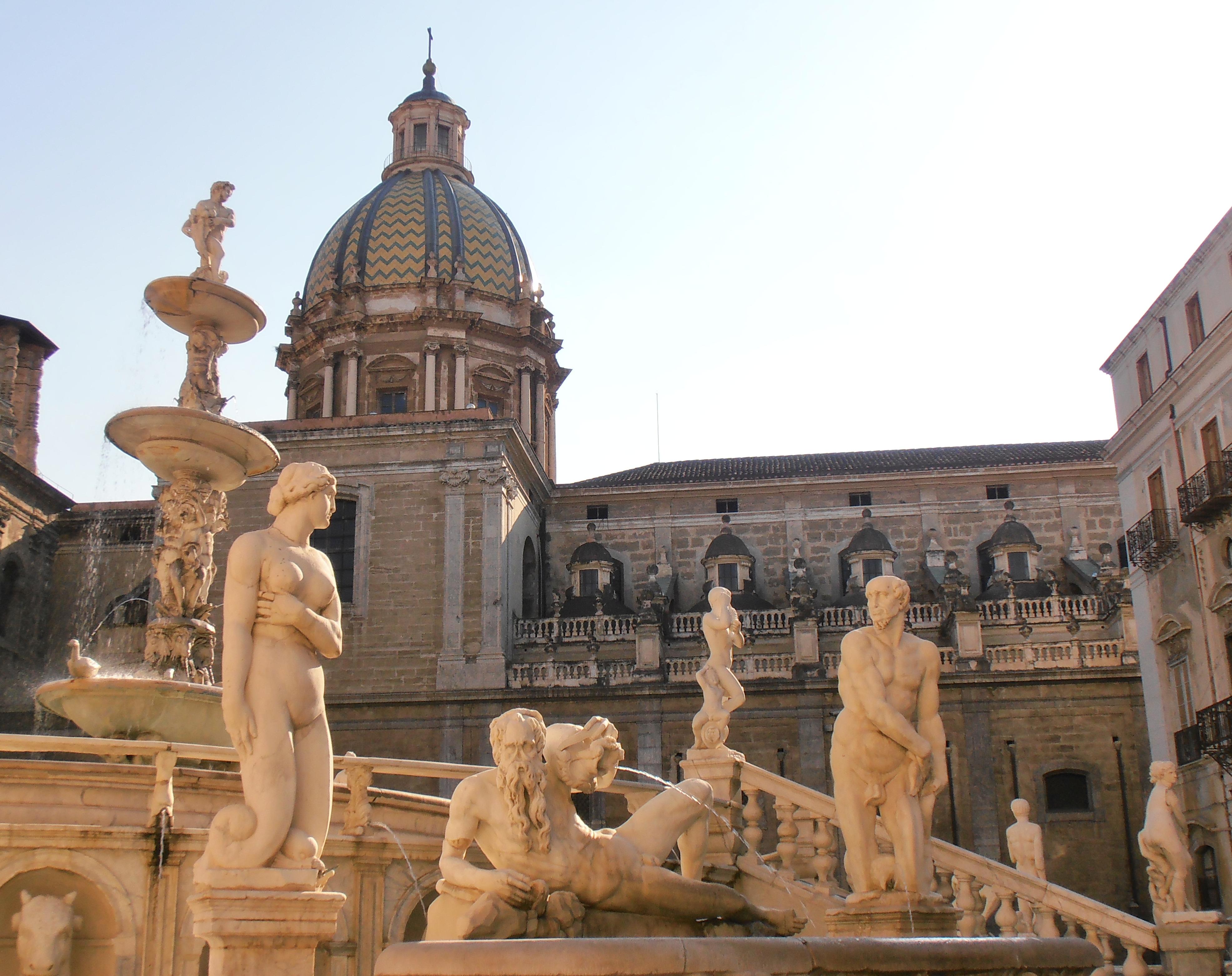 Piazza Pretoria Palerme Sicile
