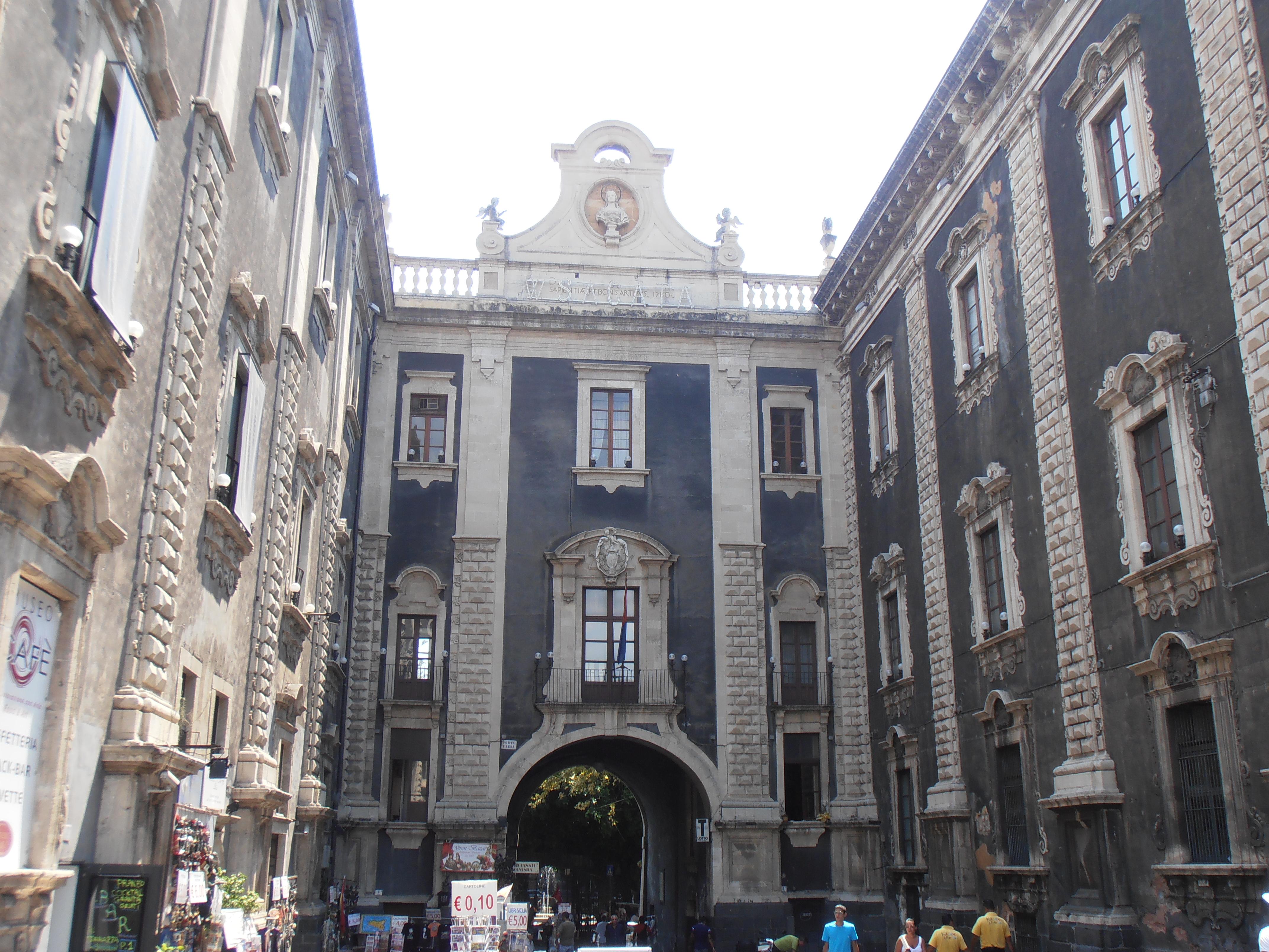 palais du Séminaire des Clercs catane sicile