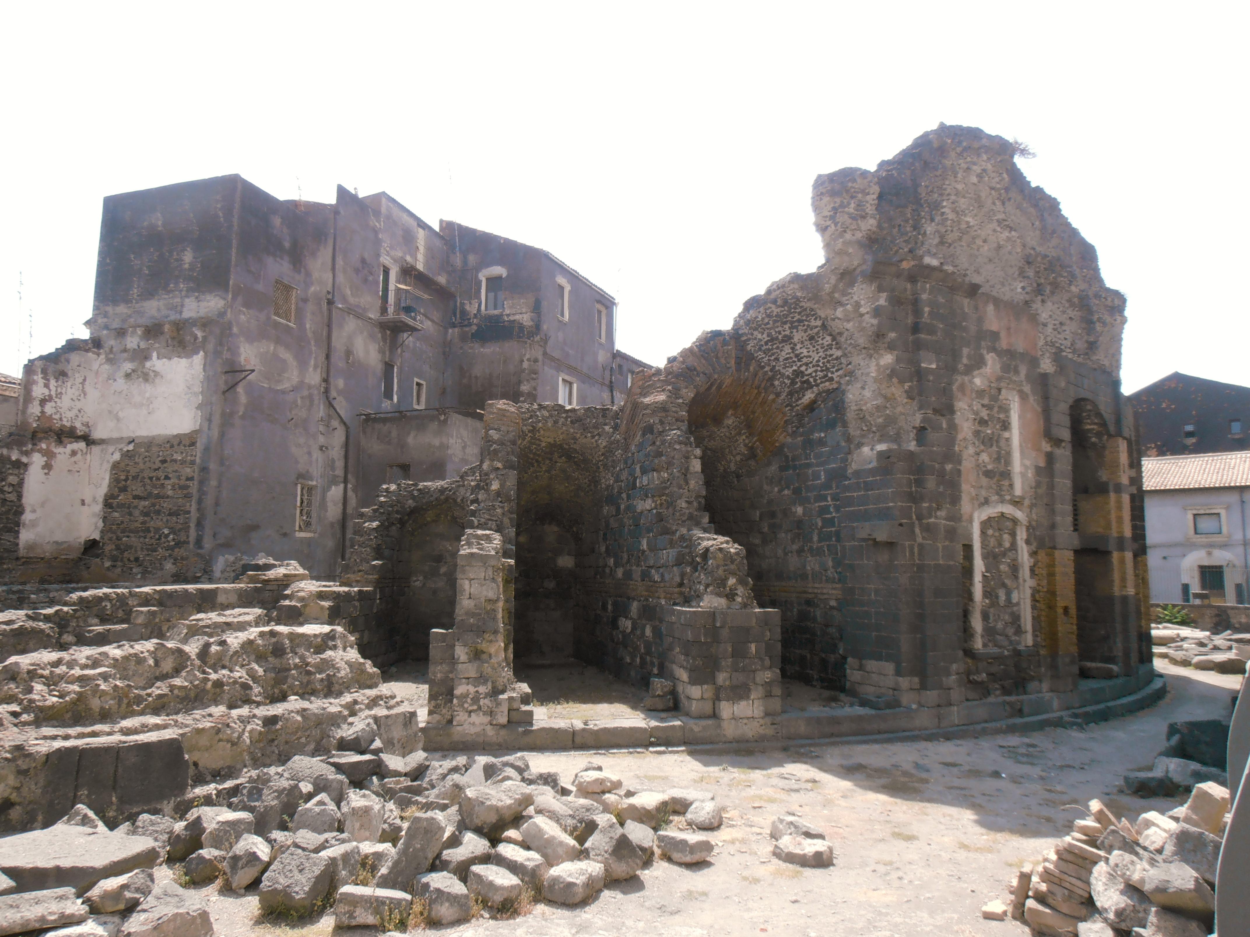 théâtre grec Catane Sicile