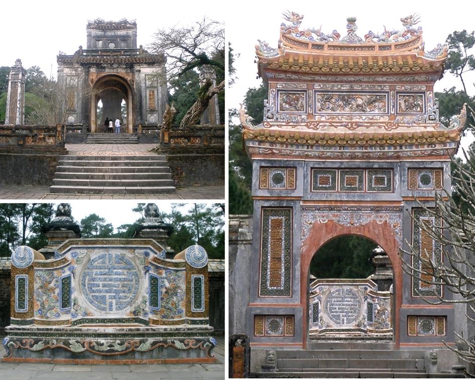 temple Hoa Khiem vietnam