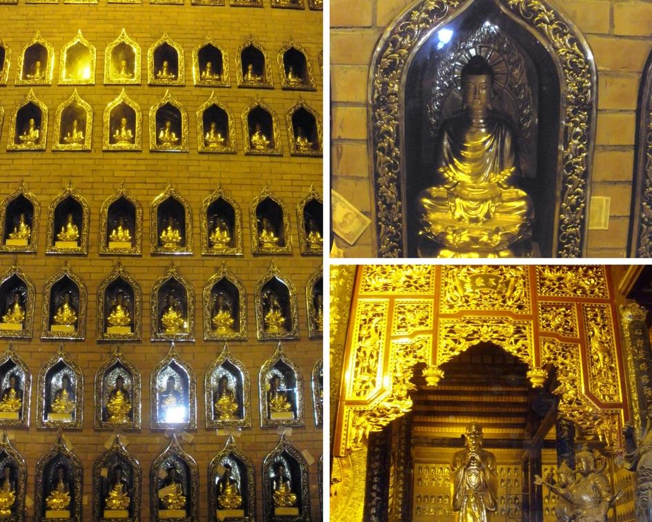 pagode bai dinh vietnam baie d'along terreste